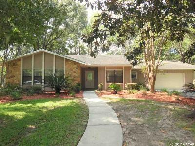 Alachua Single Family Home For Sale: 11716 NW 72ND Terrace