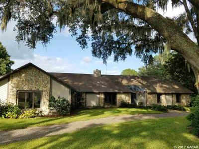 Alachua Single Family Home For Sale: 11727 NW 136TH Street