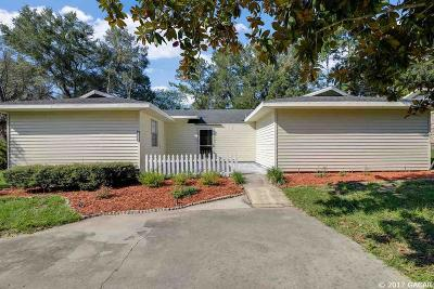 Alachua Single Family Home For Sale: 12319 NW 147th Lane