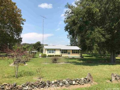 Alachua Single Family Home For Sale: 24404 NW 110TH Avenue