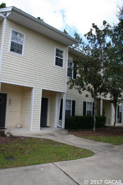 Gainesville FL Condo/Townhouse For Sale: $114,900