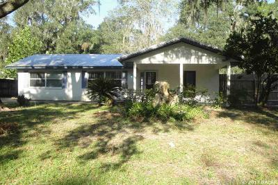 Gainesville Single Family Home For Sale: 5314 SW 79th Terrace