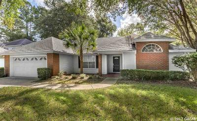 Gainesville Single Family Home For Sale: 3921 SW 98TH Terrace