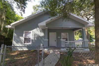 Gainesville FL Single Family Home For Sale: $164,900