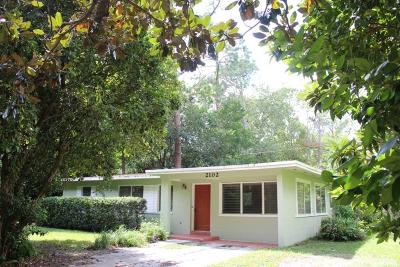 Gainesville Single Family Home For Sale: 2102 NE 8th Street