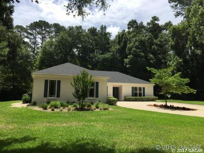 Gainesville Single Family Home For Sale: 1829 NW 34TH Street