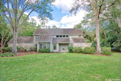 Gainesville Single Family Home For Sale: 3421 SW 79TH Terrace
