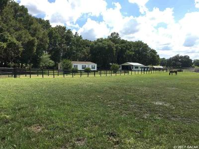 Williston Single Family Home For Sale: 4750 NE 147th Court