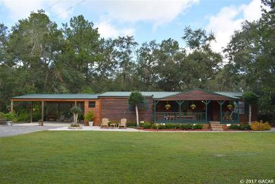 Micanopy Single Family Home For Sale: 21320 NW 106th Court Road