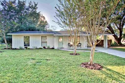 Gainesville Single Family Home For Sale: 6008 NW 30th Terrace