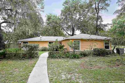 Gainesville Single Family Home For Sale: 5427 SW 78TH Terrace