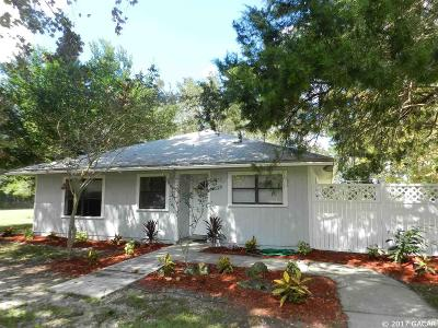 Newberry Single Family Home For Sale: 16310 NW 40 Place
