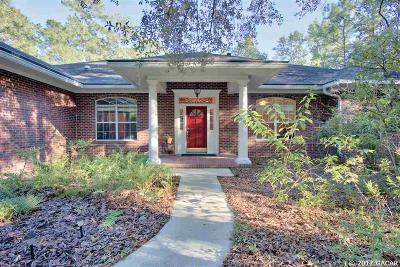 Gainesville Single Family Home For Sale: 9705 NW 63RD Lane
