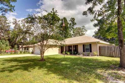 Micanopy Single Family Home For Sale: 117 NE Evans Court