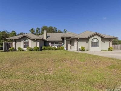 Gainesville Single Family Home For Sale: 10922 SW 83RD Place