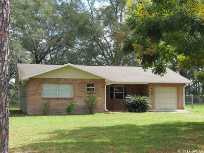 Williston Single Family Home For Sale: 6391 NE 185 Terrace