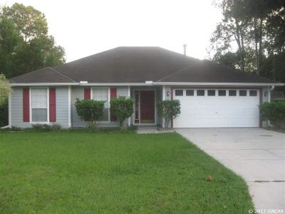 Alachua Single Family Home For Sale: 13525 NW 136th Drive