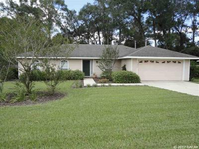 Newberry Single Family Home For Sale: 23902 NW 3rd Avenue