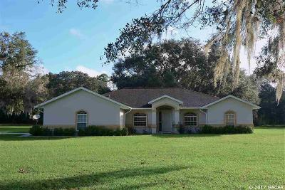 Gainesville Single Family Home For Sale: 7615 NE 62nd Drive