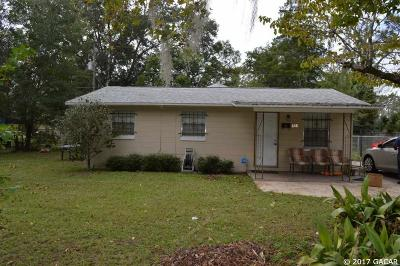 Gainesville Single Family Home For Sale: 808 NE 22 Terrace
