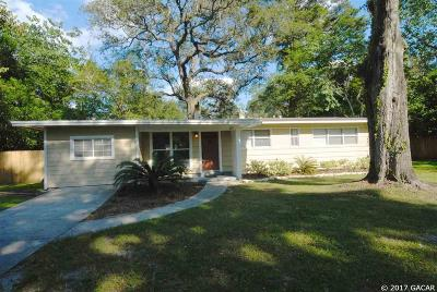 Gainesville FL Single Family Home For Sale: $164,500