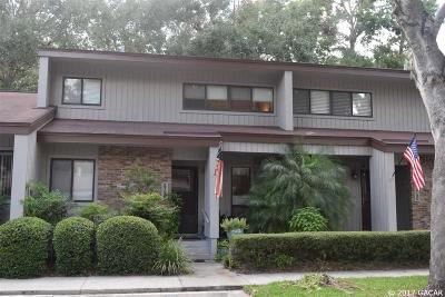 Gainesville Condo/Townhouse For Sale: 2738 NW 39th Drive