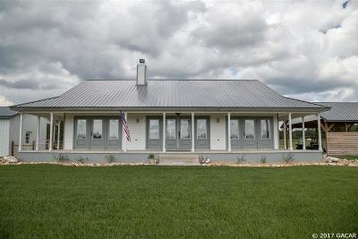 Williston FL Single Family Home For Sale: $449,000