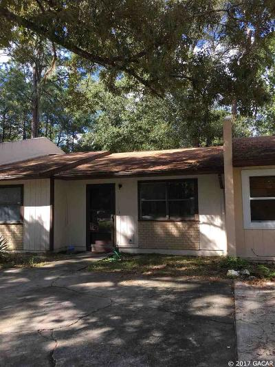 Gainesville Condo/Townhouse For Sale: 7004 SW 18 Place