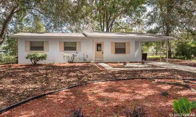Gainesville Single Family Home For Sale: 3313 NE 11TH Terrace