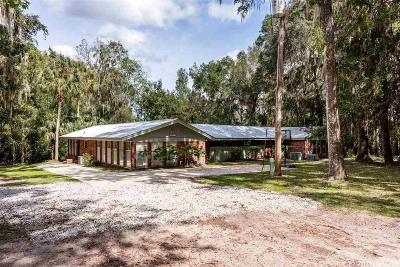 Micanopy Single Family Home For Sale: 14004 SE 14th Terrace