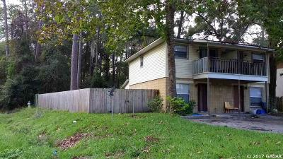 Gainesville Multi Family Home For Sale: 1826 SW 69th Terrace