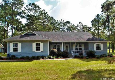 Alachua Single Family Home For Sale: 27713 N County Road 1491