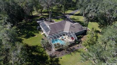 Gainesville Single Family Home For Sale: 11281 SW Williston Road