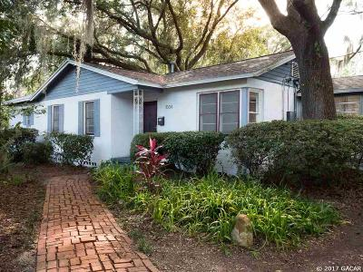 Gainesville Single Family Home For Sale: 1004 NE 9th Street