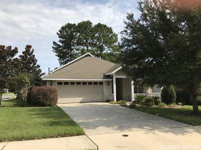 Newberry Single Family Home For Sale: 14582 NW 22ND Place