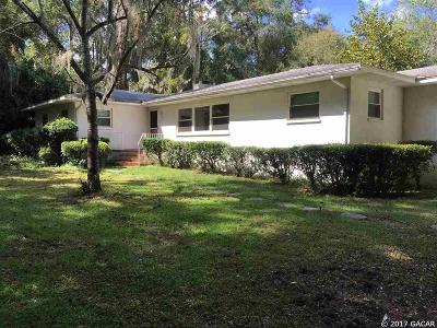 Gainesville Single Family Home For Sale: 2120 SW 44TH Avenue
