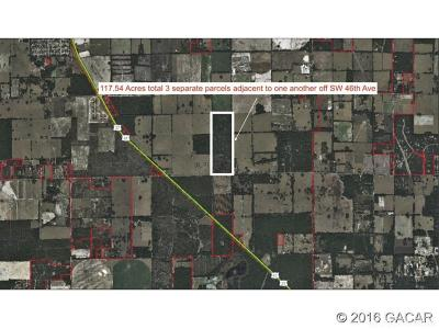 Newberry Residential Lots & Land For Sale: SW 46th Avenue
