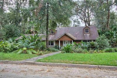 Gainesville Single Family Home For Sale: 3905 NW 32nd Place