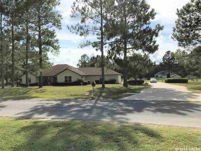 Chiefland Single Family Home For Sale: 11310 NW 73rd Court