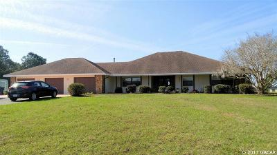 Alachua Single Family Home For Sale: 11908 NW 122nd Terrace