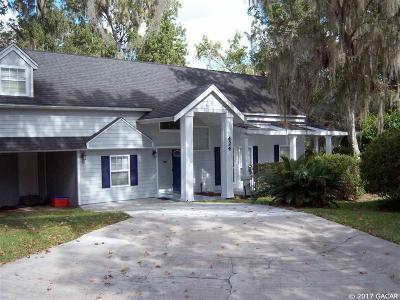 Gainesville Single Family Home For Sale: 424 NW 103RD Terrace