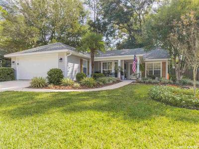 Gainesville Single Family Home For Sale: 6821 SW 80TH Drive