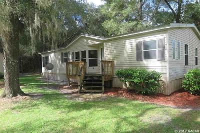 Chiefland Single Family Home For Sale: 11024 NW 112th Place