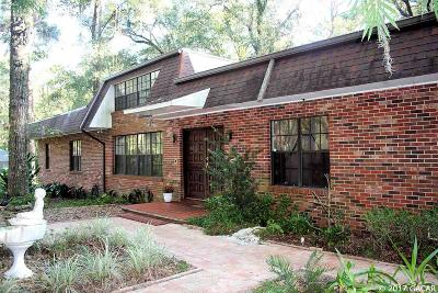 Gainesville Single Family Home For Sale: 415 SW 80TH Boulevard