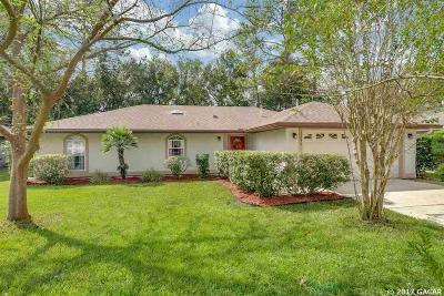 Alachua Single Family Home For Sale: 11054 NW 61ST Terrace