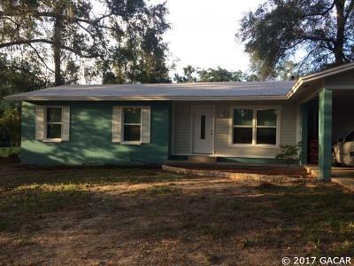 Alachua Single Family Home For Sale: 14324 NW 157TH Place