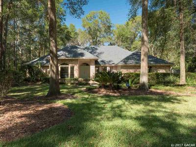 Gainesville Single Family Home For Sale: 8890 SW 45 Boulevard