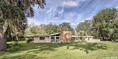 Micanopy Single Family Home For Sale: 11816 SE County Road 234