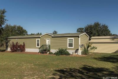 Williston Single Family Home For Sale: 14951 NE 14th Lane