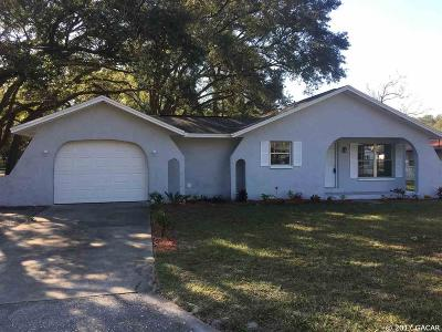 Newberry Single Family Home For Sale: 25023 NW 7 Avenue